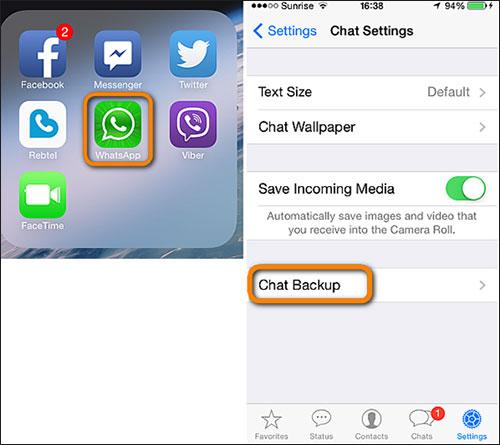 WhatsApp auf Apple Geräten kann man über iCloud ausspionieren