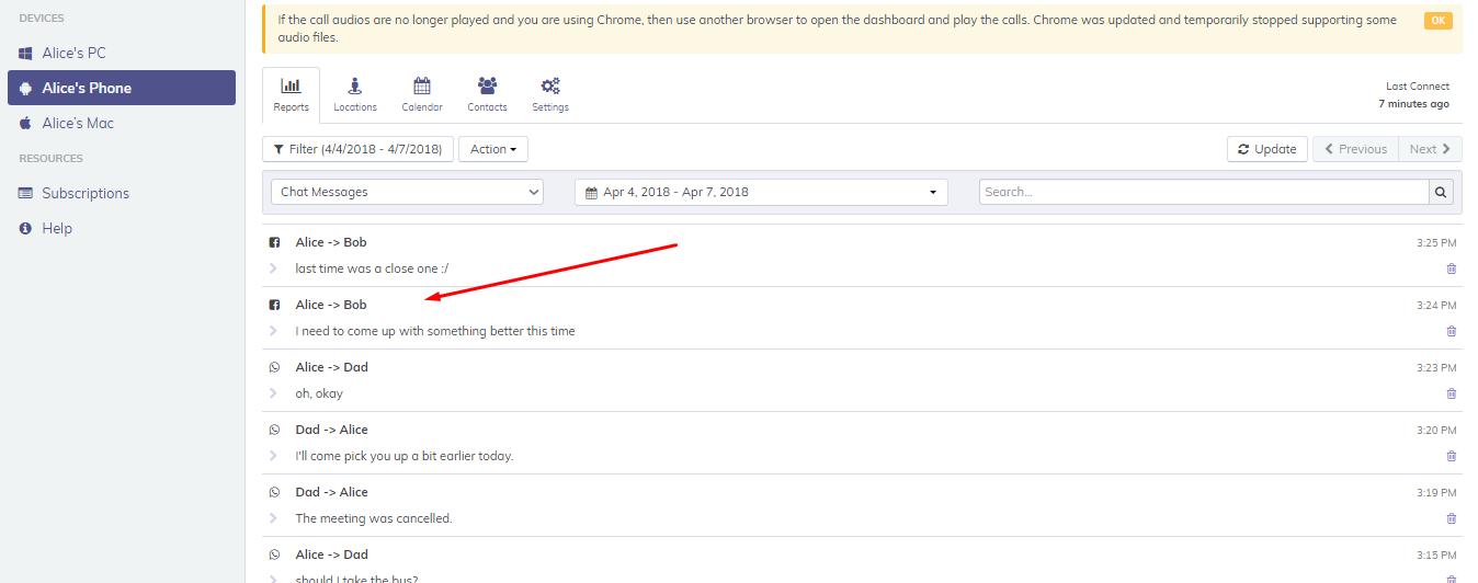 Facebook hacken HoverWatch