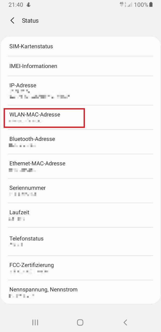4 MAC-Adresse